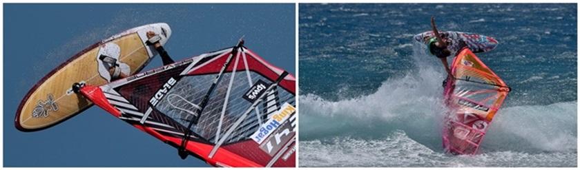 pozo izquierdo - windsurf - windsurfing