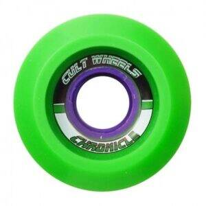 chronicle-65mm-78a-green-wheels
